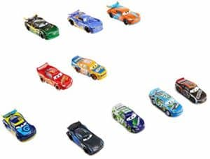 10 pack set of dsisney pixar cars