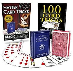 100 card tricks kit