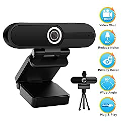 1080 webcam with microphone