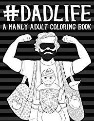Dad coloring book cover