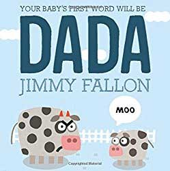gift cover for dada father's book by jimmy fallon