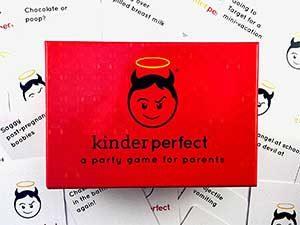Kinder perfect parent's card game