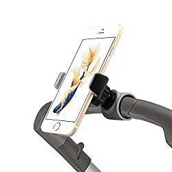 Smartphone stroller mount