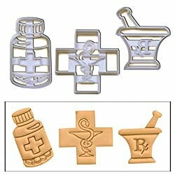 pharmacy themed cookie cutters