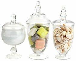 decorative apothecary jars