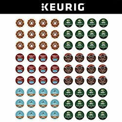 keurig coffee pods collection