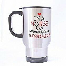 Nurse steel mug