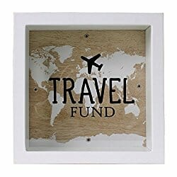 travel funds savings jar