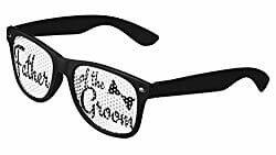 father of the groom novelty sunglasses
