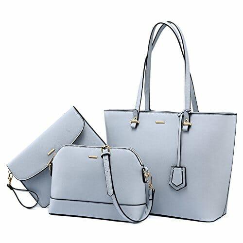 3 tote fashion bags