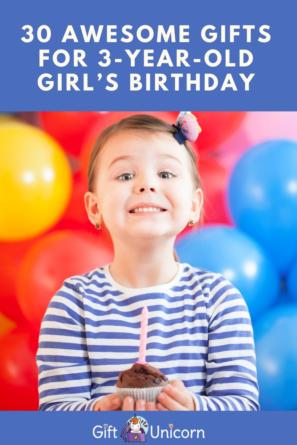3 year old girl birthday gift ideas pin image