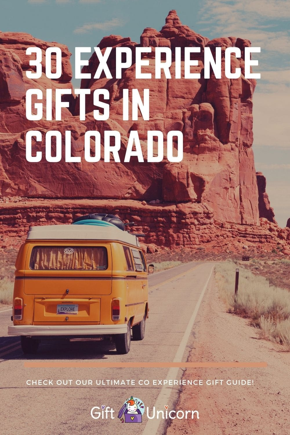 30 experience gifts in colorado