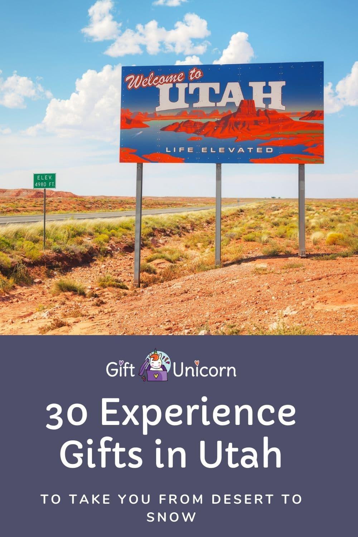 experience gifts in utah