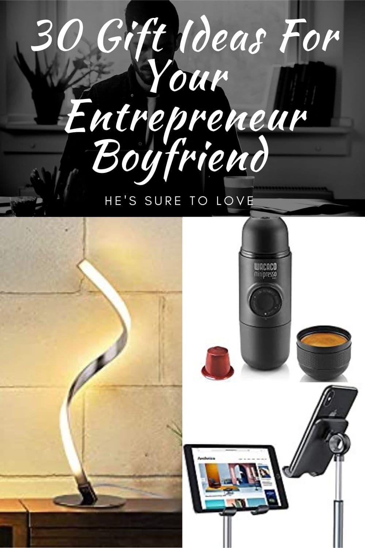gifts for an entrepreneur boyfriend