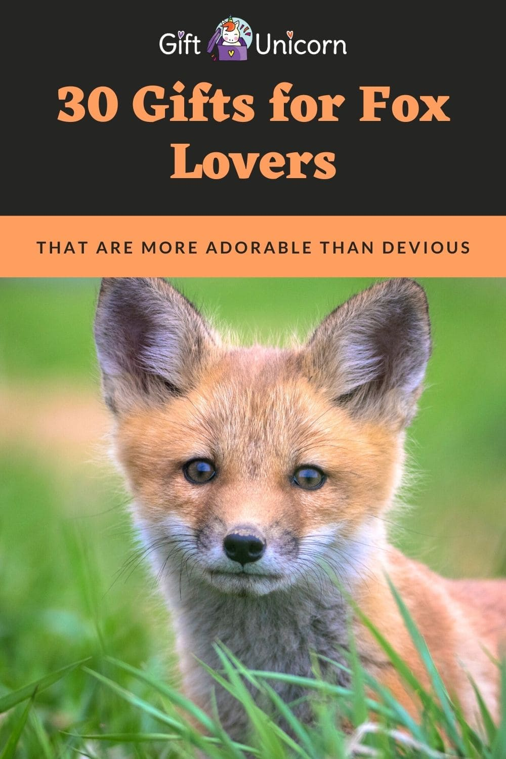 gifts for fox lovers
