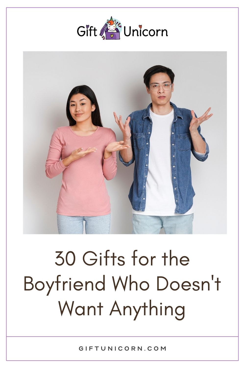 gifts for a boyfriend who does not want anything