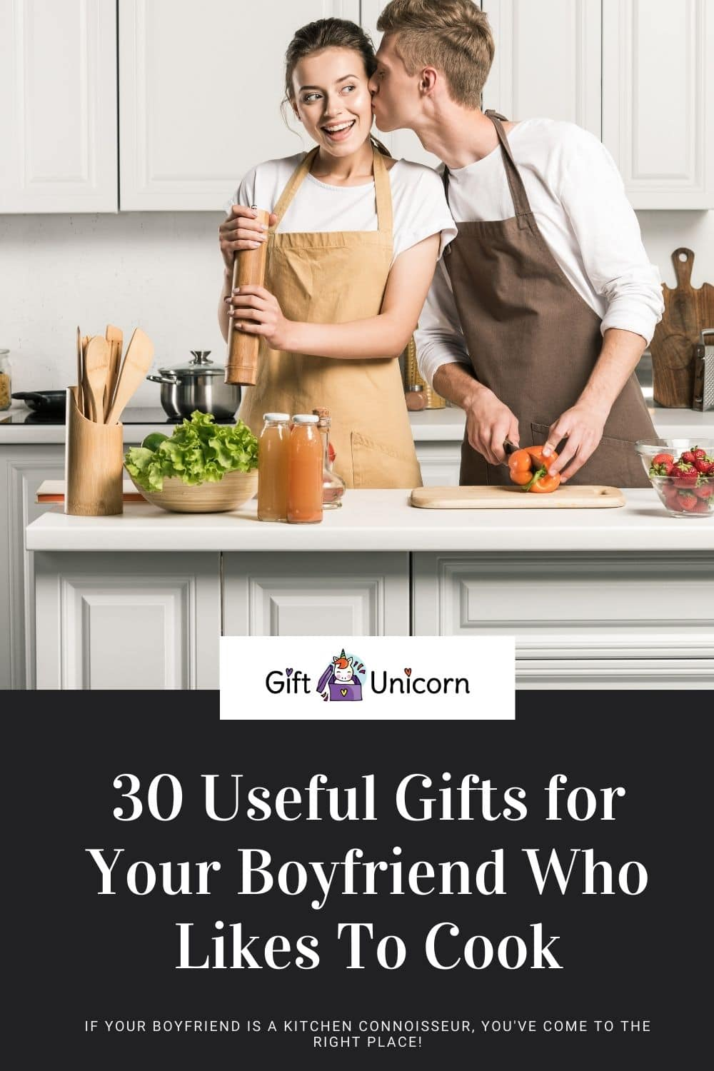 30 Useful gifts for your boyfriend who likes to cook
