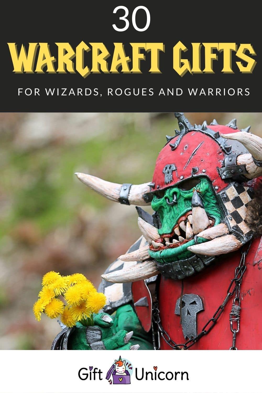 30 warcraft gifts pin image