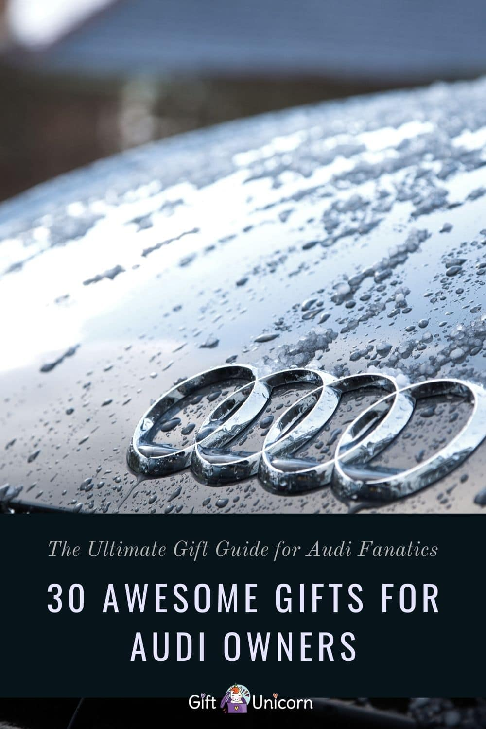 30 Awesome Gifts for Audi Owners They Will Love - pinterest pin image
