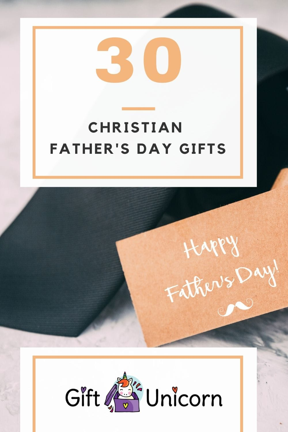 30 christian father's day gifts pin image
