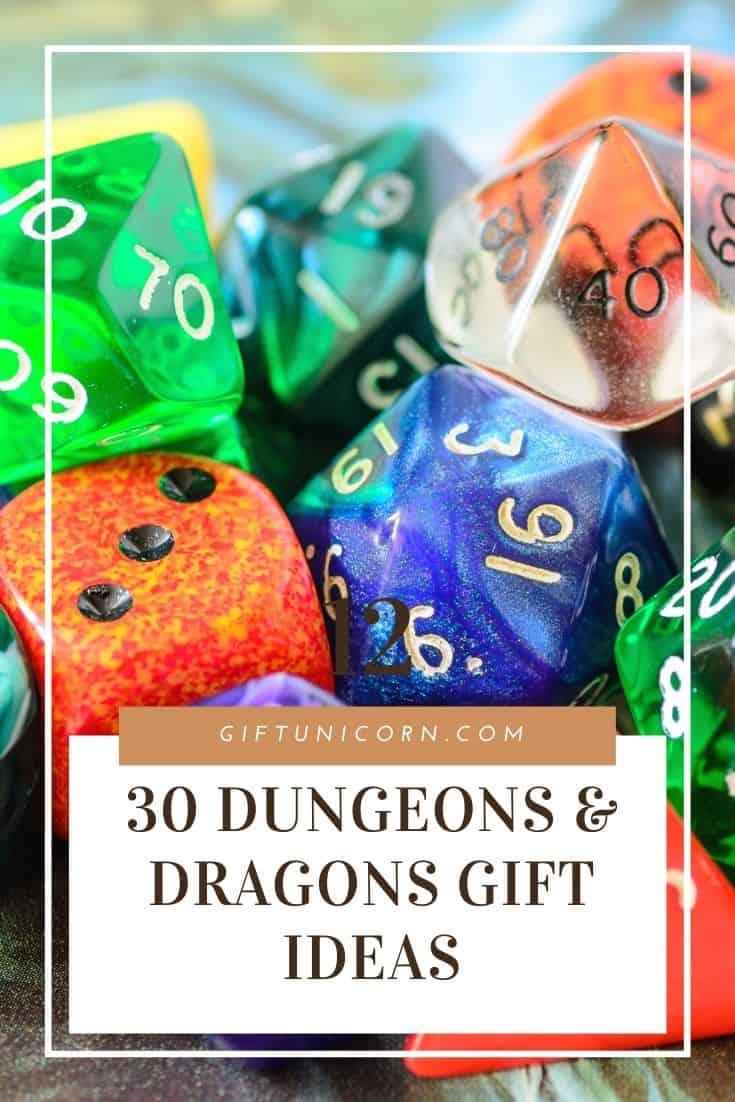 30 uniaue dungeons and dragons gift ideas