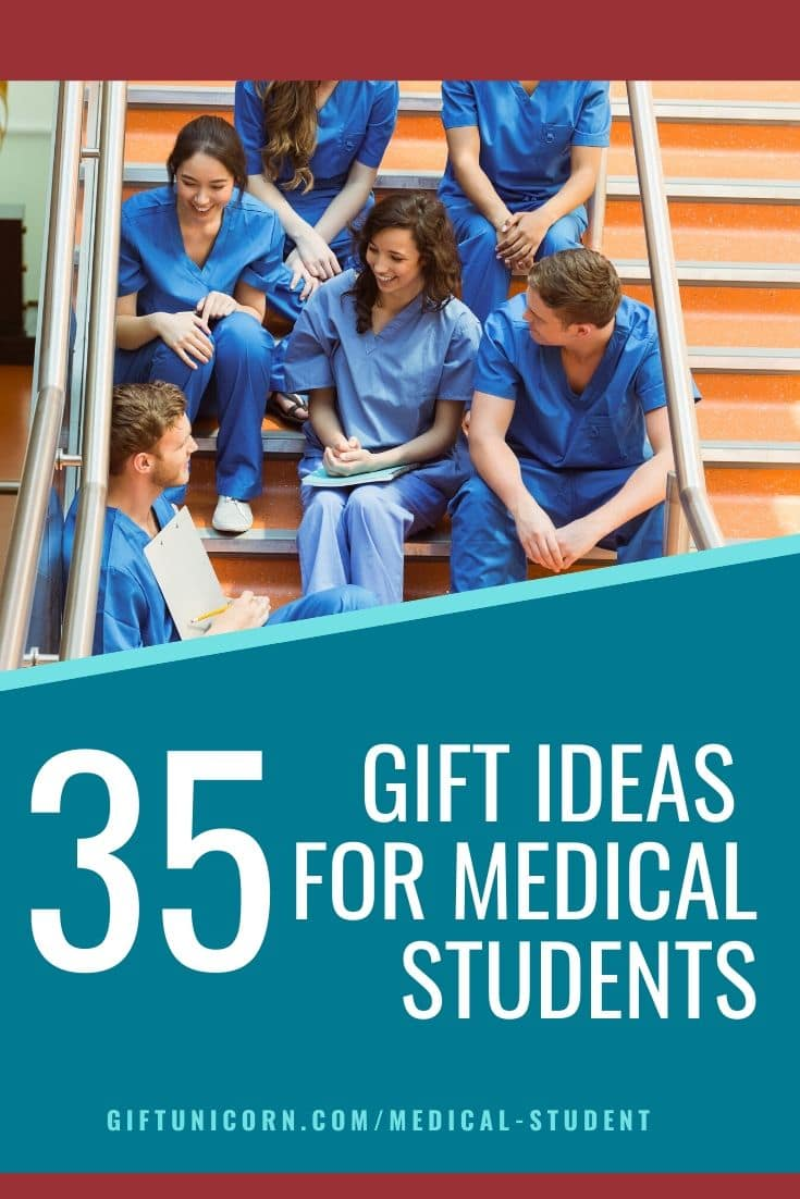 35 gifts for medical students pin image