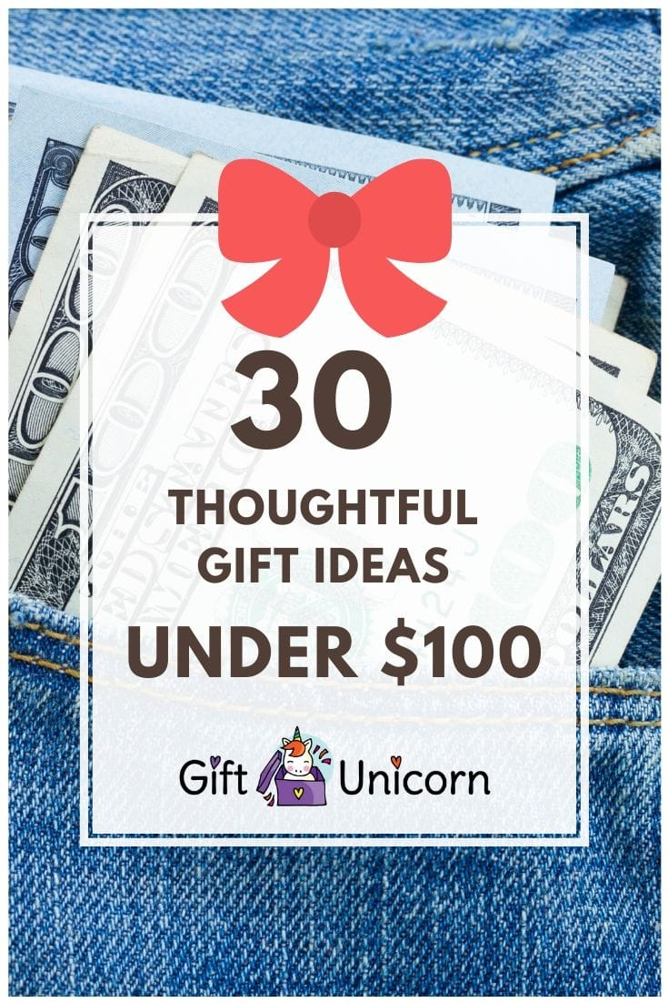 30 gifts under 100 pin image