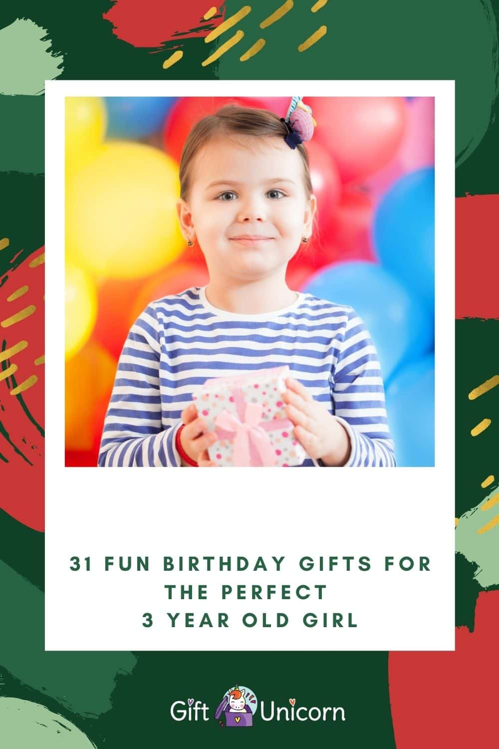 31 birthday gifts for a 3 year old girl