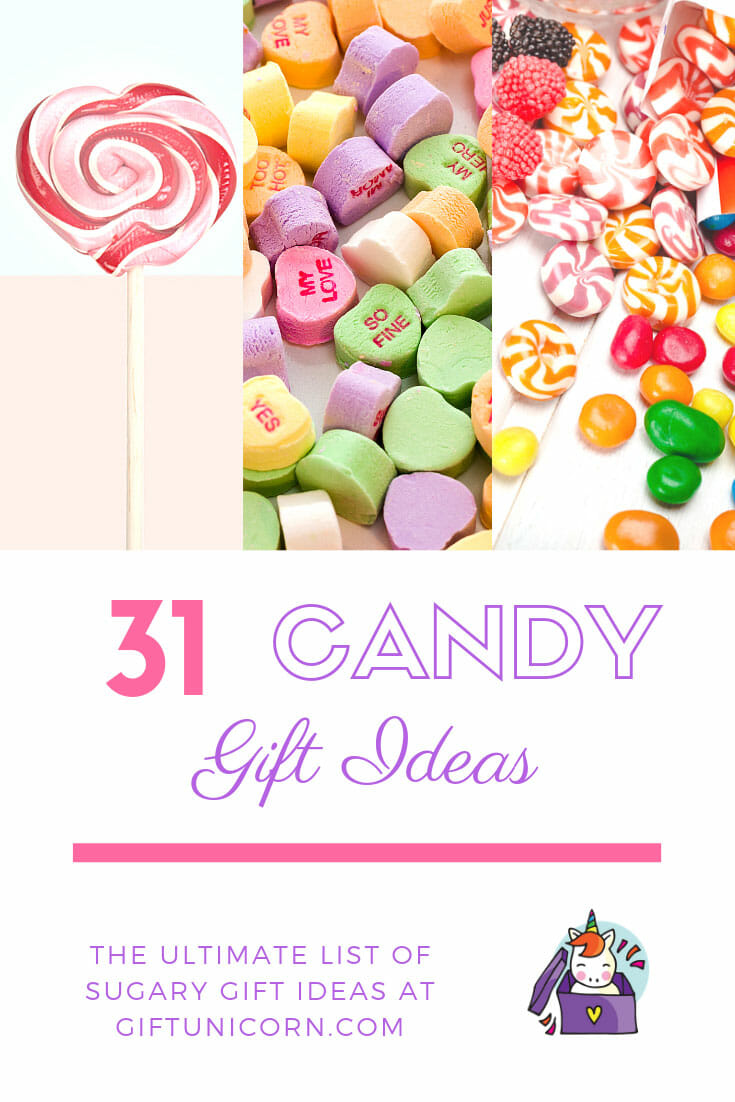 31 candy gift ideas