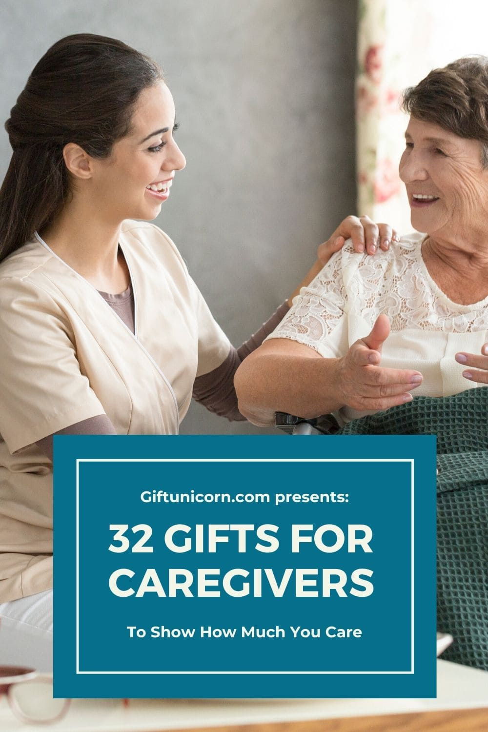 32 gifts for caregivers pin image