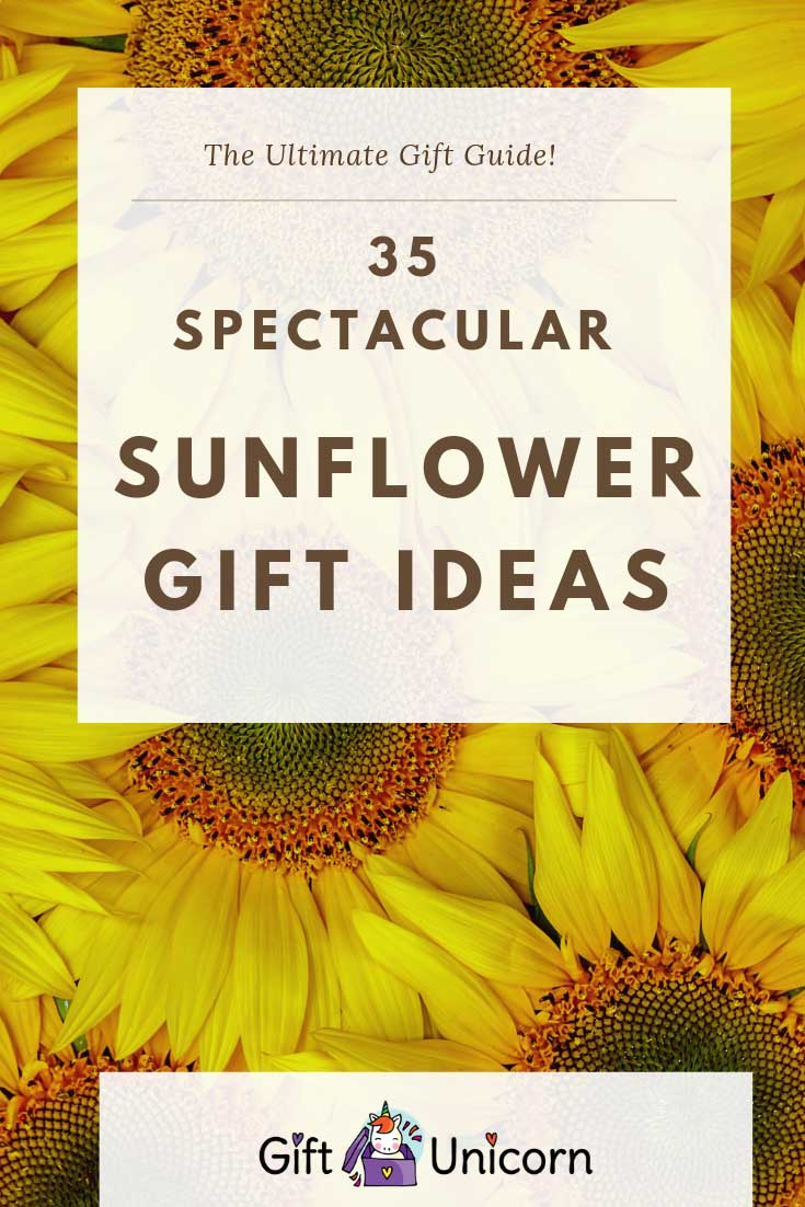 35 sunflower gifts