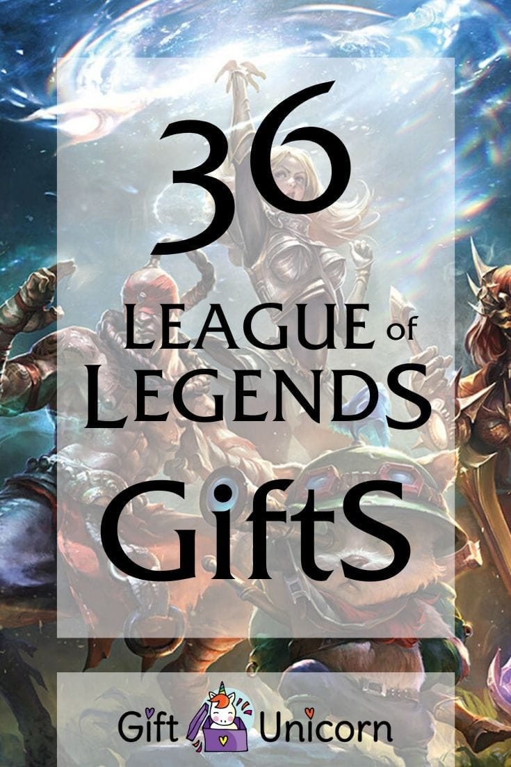 36 league of legends gifts for true fans pin image