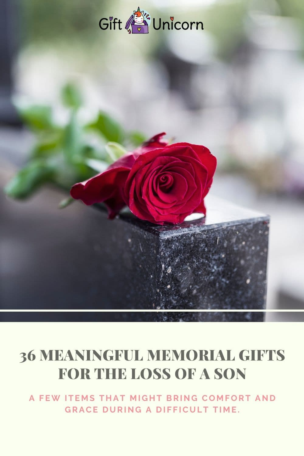 36 memorial gifts for son pin image