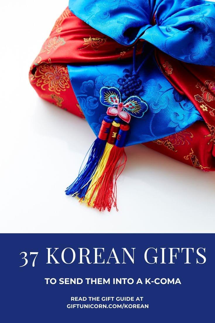 37 korean gifts pin image