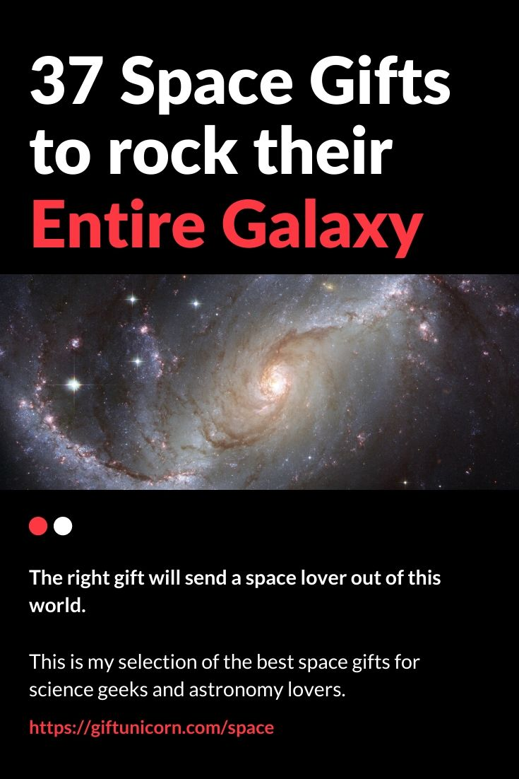 37 space gifts to rock their entire galaxy pin image