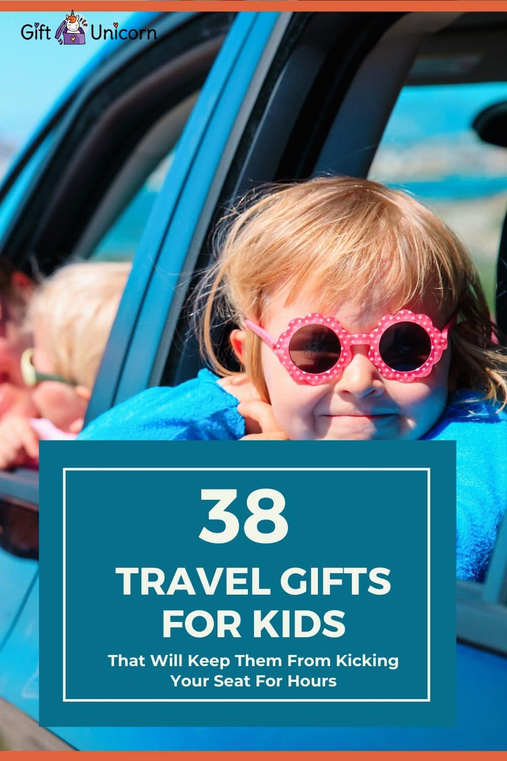 38 travel gifts for kids pin image