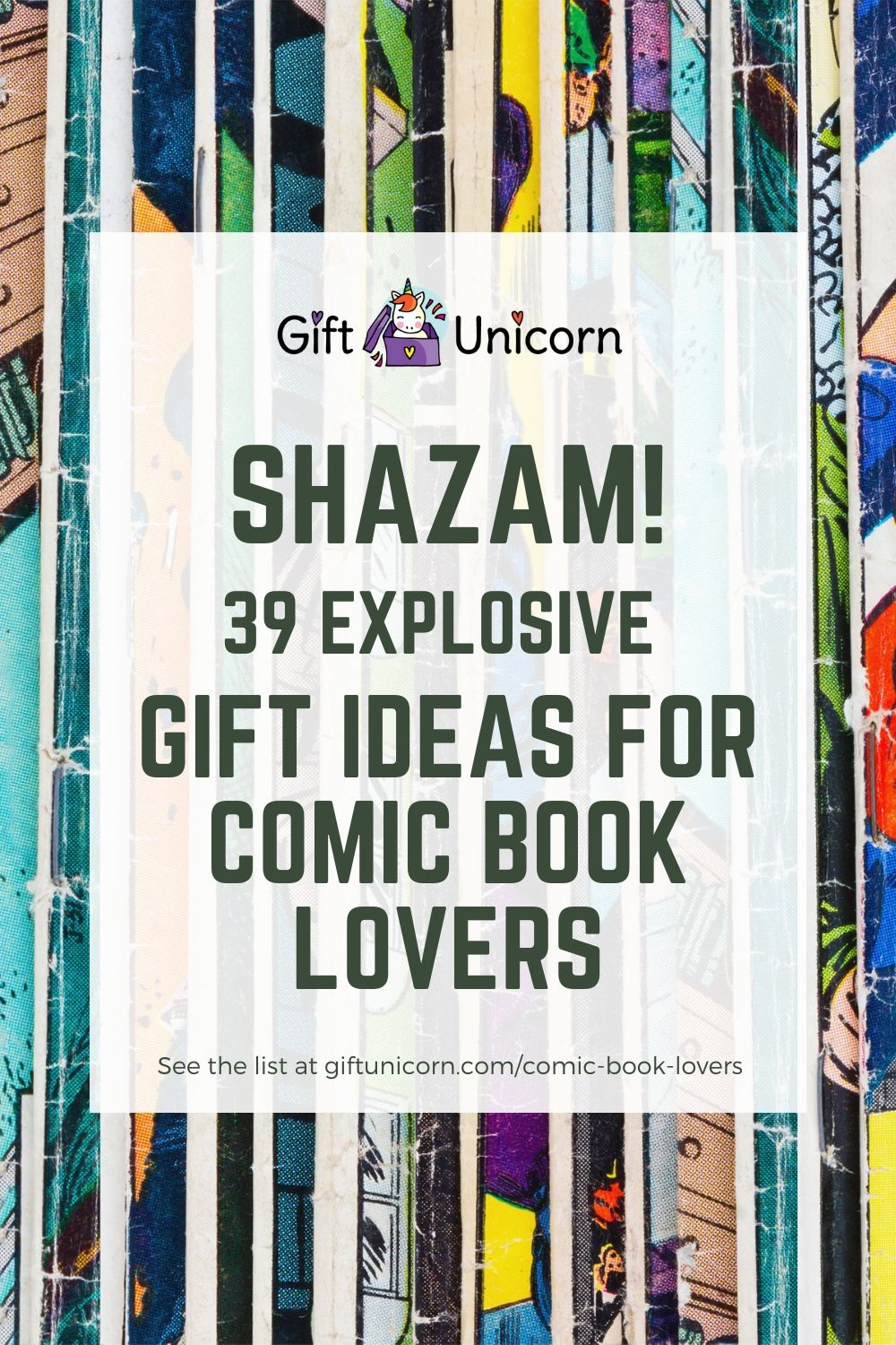 39 explosive gift ideas for comic book lovers