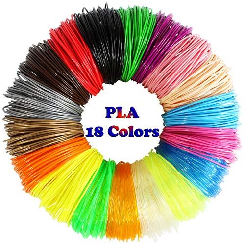 3D pen with 18 colors