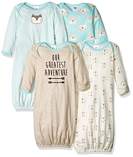 4 pack cotton gown