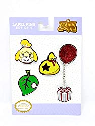 4 piece lapel pin set