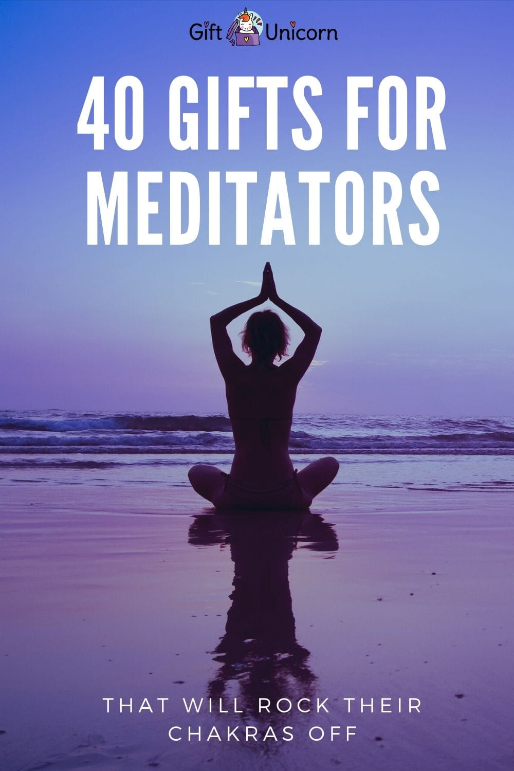 40 gifts for meditators pin image