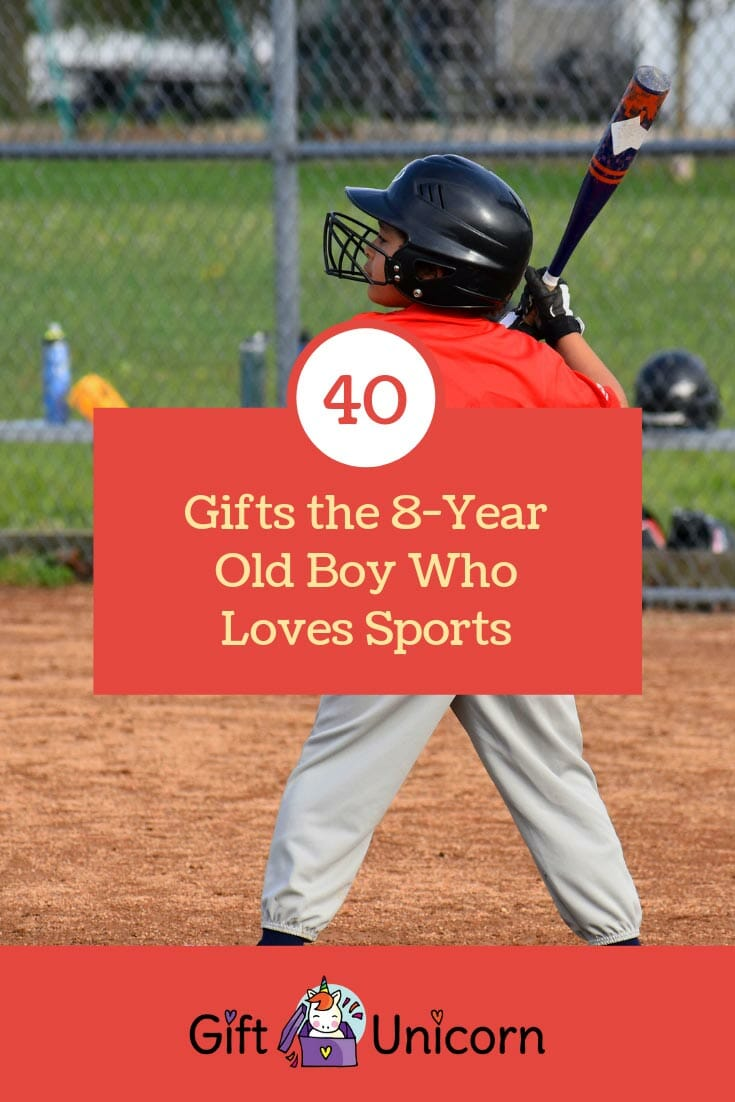 40 gifts for the 8 year old boy who loves sports