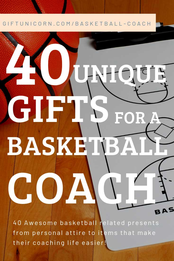 40 gifts for a basketball coach