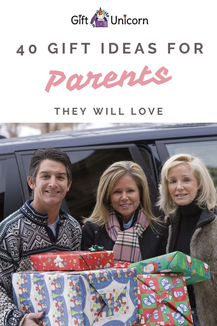 40 gifts for parents pin image