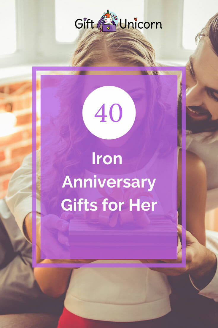 40 iron anniversary gifts for her