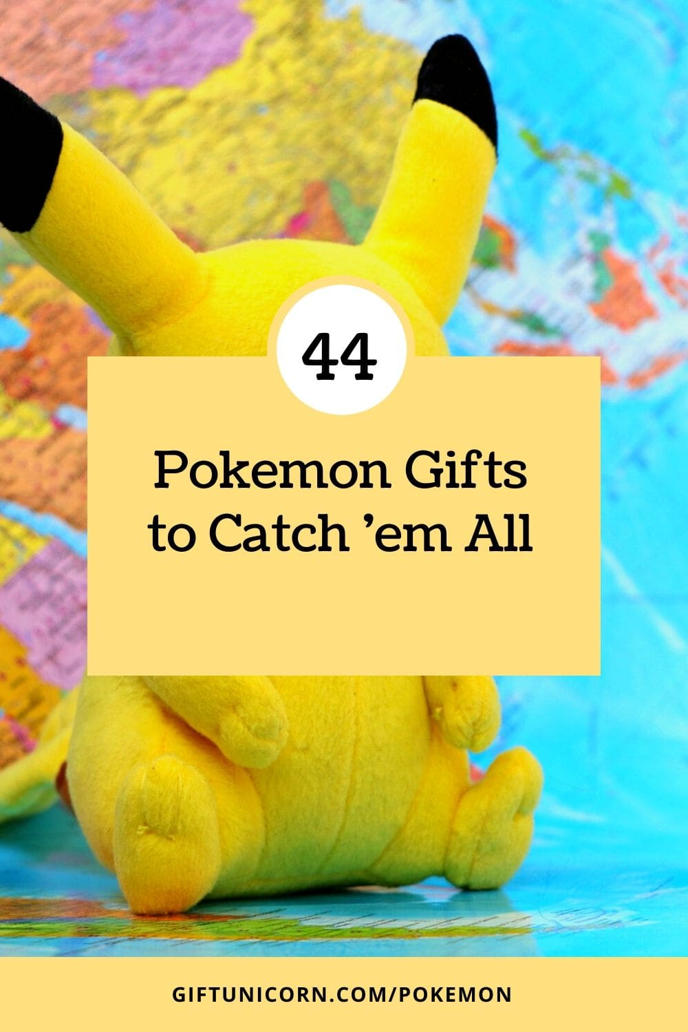 44 Pokemon gifts pin image