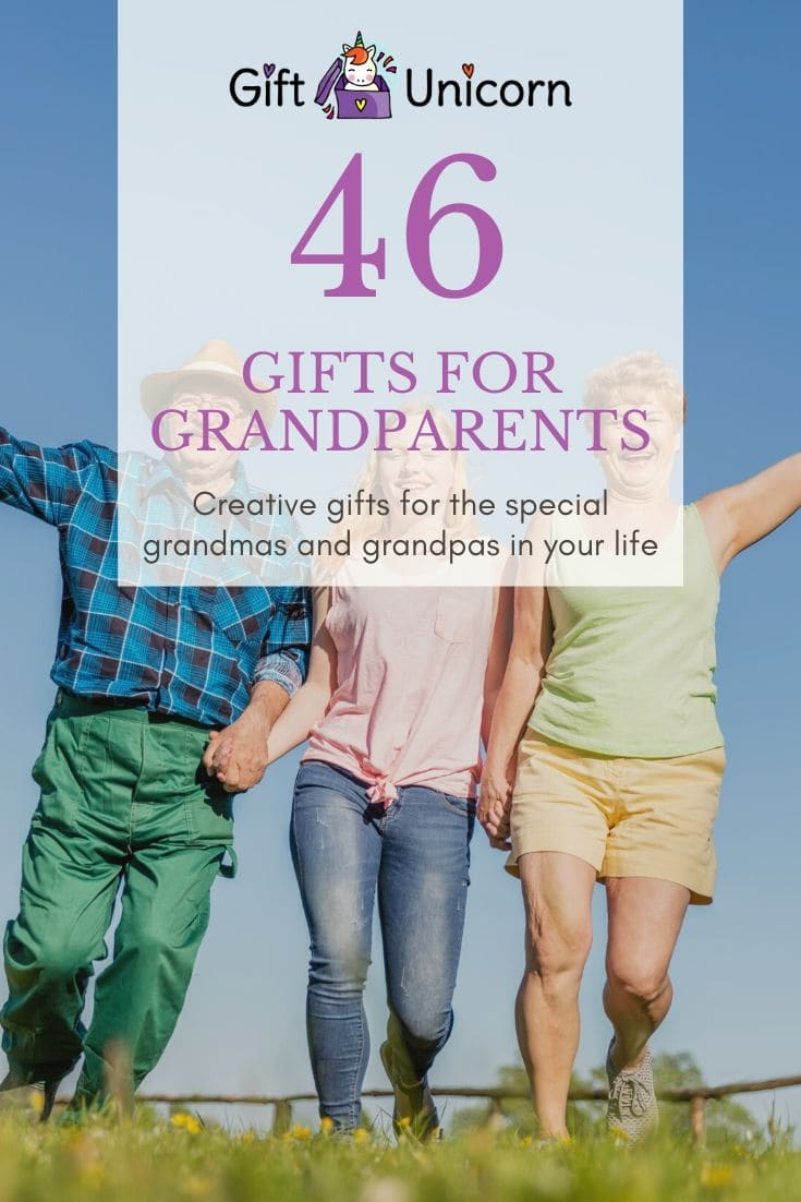 46 gifts for grandparents pin image