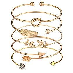 5 pc bangle bracelets