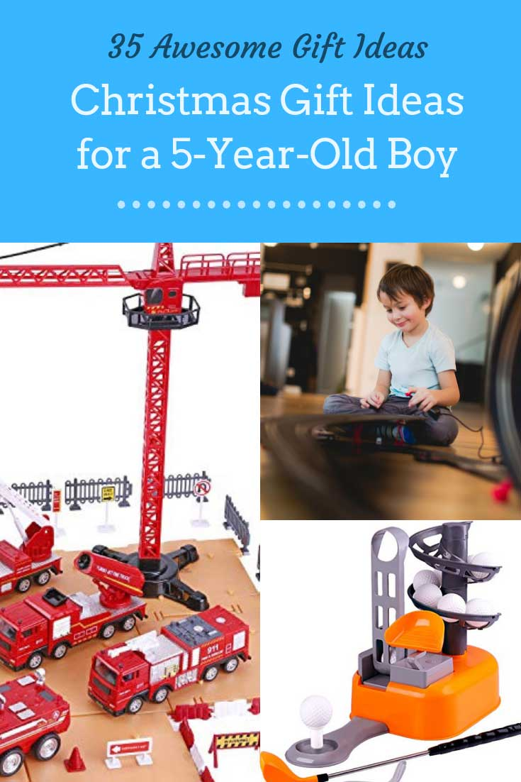 37 christmas gifts for a 5 year old boy