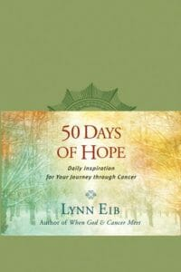 50 Days of hope cancer journey book